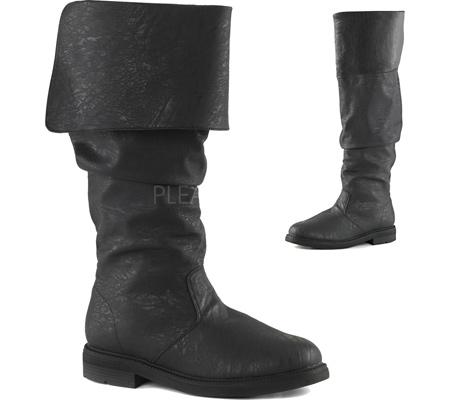 Men's Funtasma Robinhood 100 Boot, Black Distressed PU, large, image 2