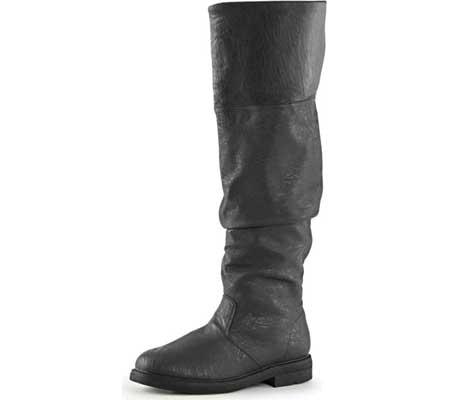 Men's Funtasma Robinhood 100 Boot, Black Distressed PU, large, image 3
