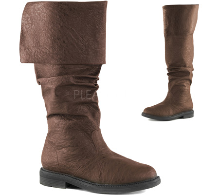 Men's Funtasma Robinhood 100 Boot, Brown Distressed PU, large, image 2
