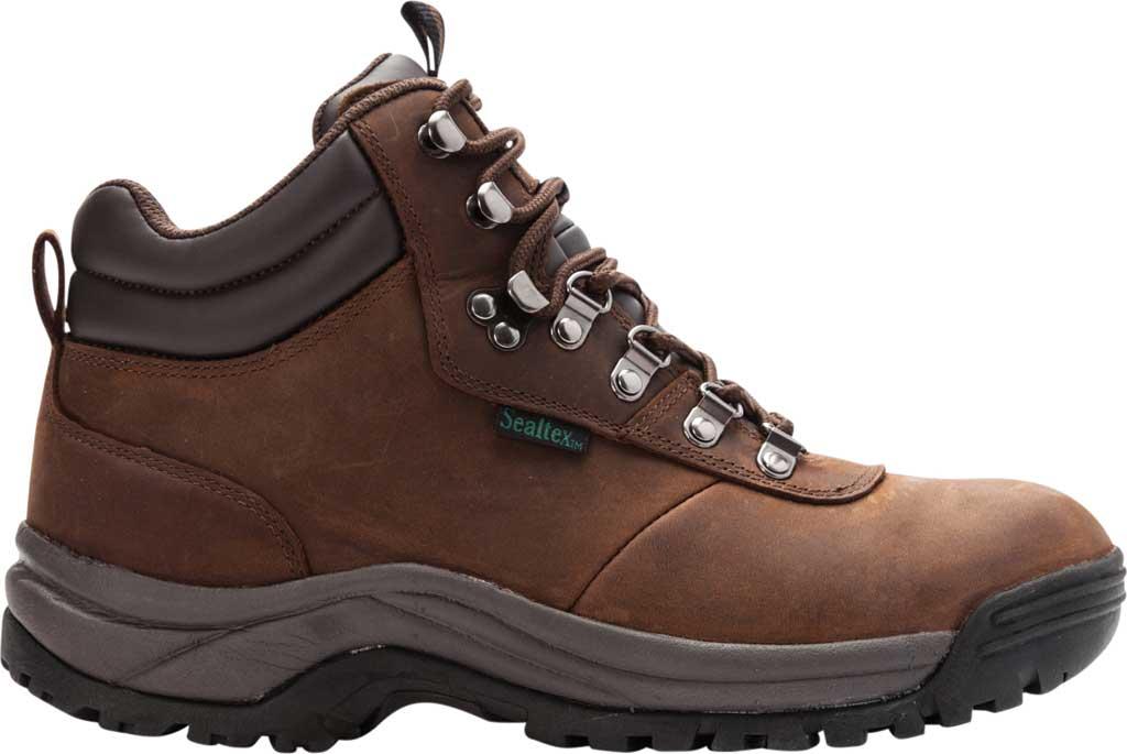 Men's Propet Cliff Walker Boot, Brown Crazy Horse Leather, large, image 2