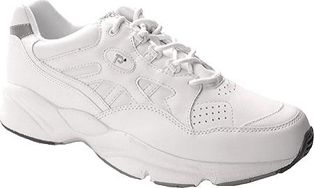 Men's Propet Stability Walker Shoe, White, large, image 1