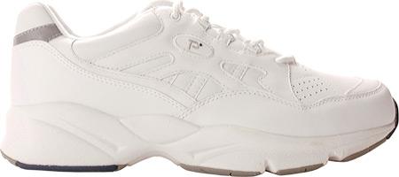 Men's Propet Stability Walker Shoe, White, large, image 2