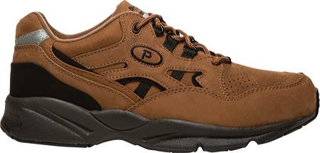 Men's Propet Stability Walker Shoe, Choco/Black Nubuck, large, image 2
