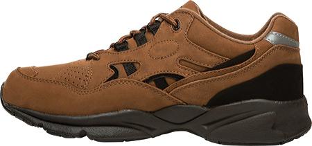 Men's Propet Stability Walker Shoe, Choco/Black Nubuck, large, image 3