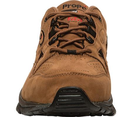 Men's Propet Stability Walker Shoe, Choco/Black Nubuck, large, image 4