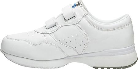 Men's Propet LifeWalker Strap Shoe, White, large, image 3