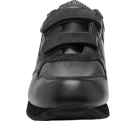 Men's Propet LifeWalker Strap Shoe, Black, large, image 4