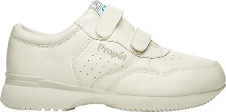Men's Propet LifeWalker Strap Shoe, Sport White, large, image 2