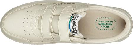 Men's Propet LifeWalker Strap Shoe, Sport White, large, image 6
