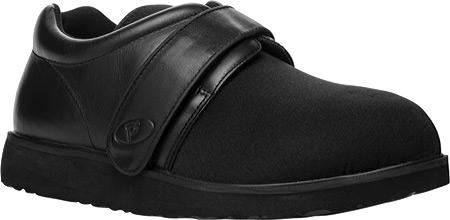 Men's Propet PedWalker 3, Black Smooth Leather/Nylon, large, image 1