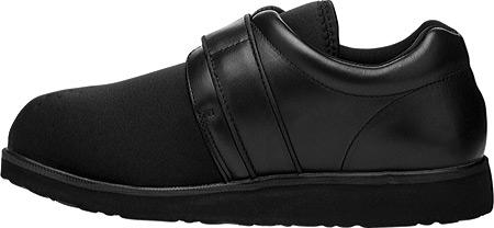 Men's Propet PedWalker 3, Black Smooth Leather/Nylon, large, image 3