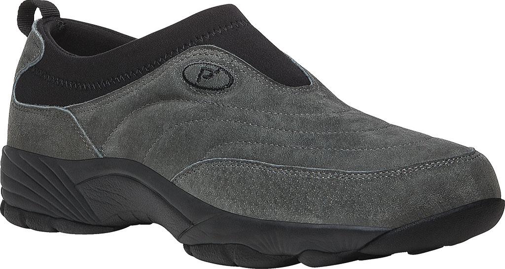 Men's Propet Wash & Wear Slip-On II Suede, , large, image 1