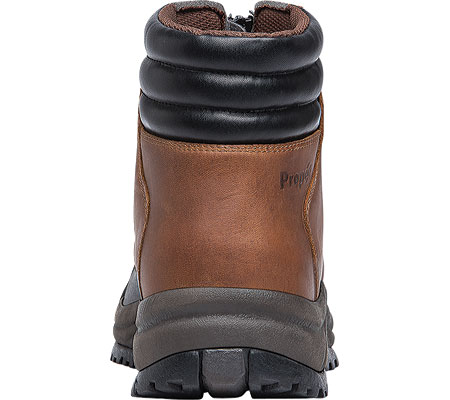Men's Propet Blizzard Mid Zip Up Boot, Brown/Black Leather, large, image 5