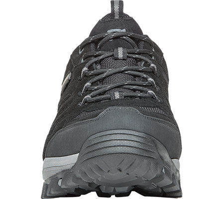 Men's Propet Ridge Walker Low Hiking Shoe, Black Suede/Mesh, large, image 4