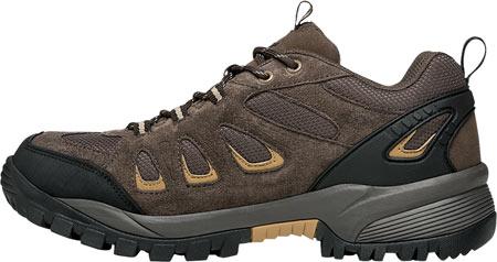 Men's Propet Ridge Walker Low Hiking Shoe, Brown Suede/Mesh, large, image 3