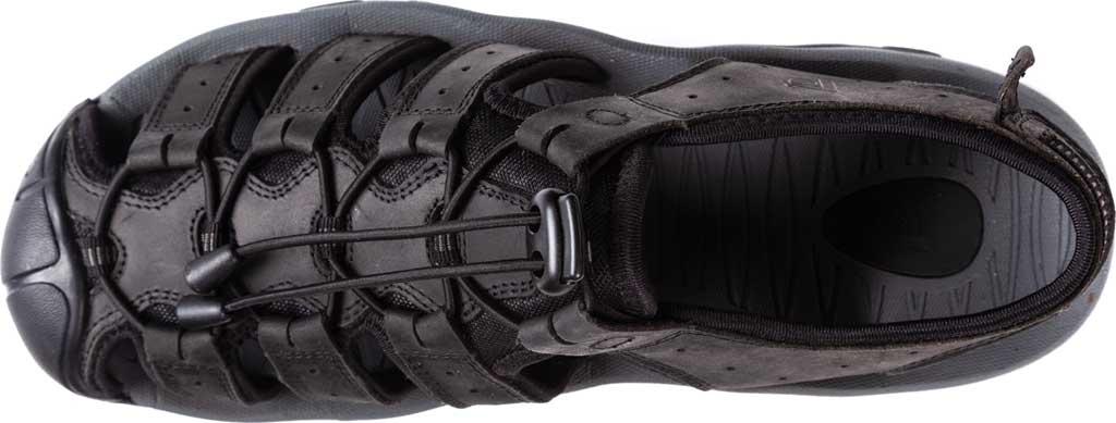 Men's Propet Kona Fisherman Sandal, Black Full Grain Leather, large, image 4