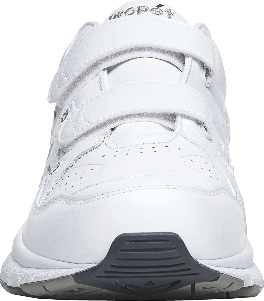 Men's Propet Stability Walker Strap Shoe, White Full Grain Leather, large, image 4