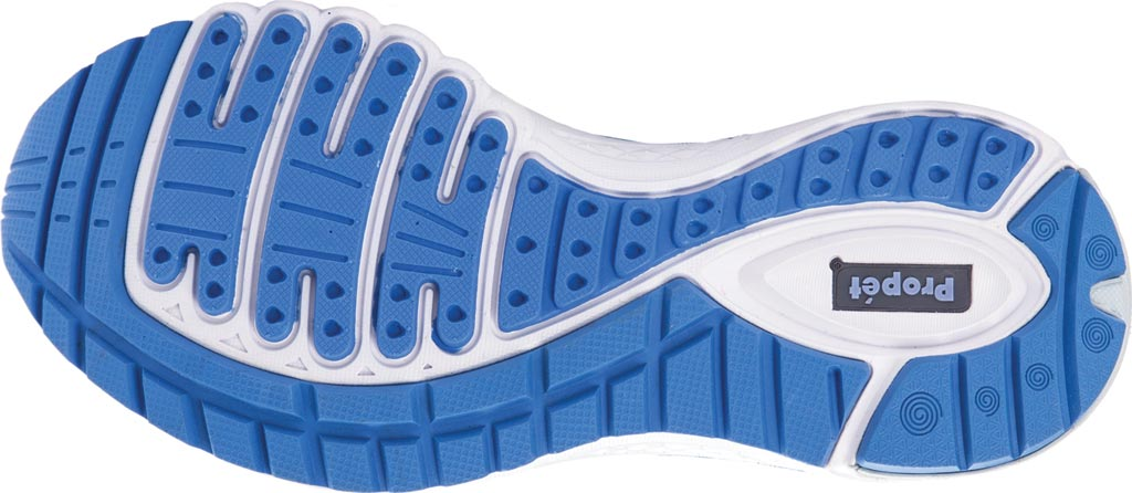 Women's Propet One Sneaker, Blue/Silver Mesh, large, image 5