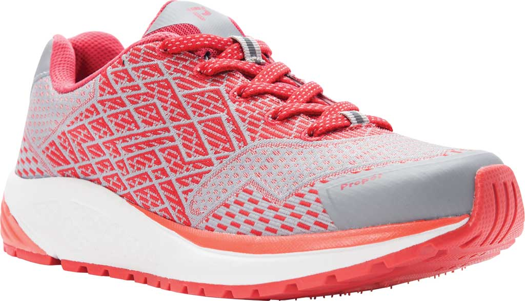 Women's Propet One Sneaker, Coral Knit Mesh, large, image 1