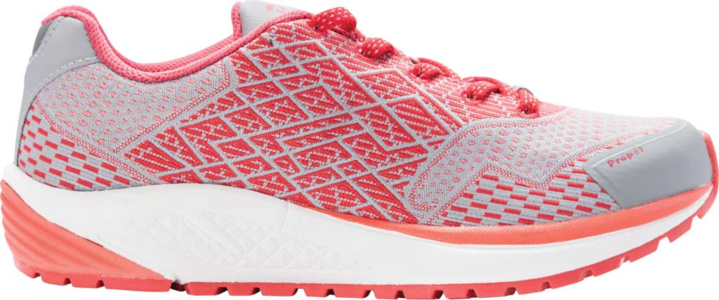 Women's Propet One Sneaker, Coral Knit Mesh, large, image 2