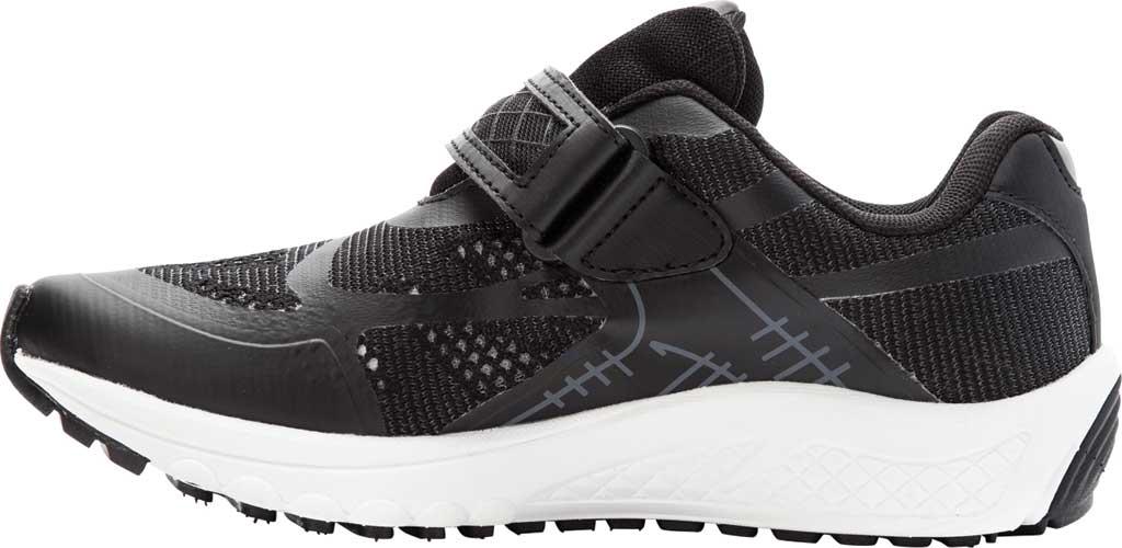 Women's Propet One Strap Sneaker, Black/Grey Mesh, large, image 3