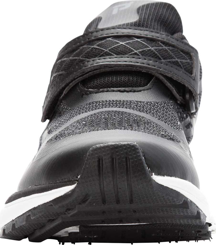 Women's Propet One Strap Sneaker, Black/Grey Mesh, large, image 4