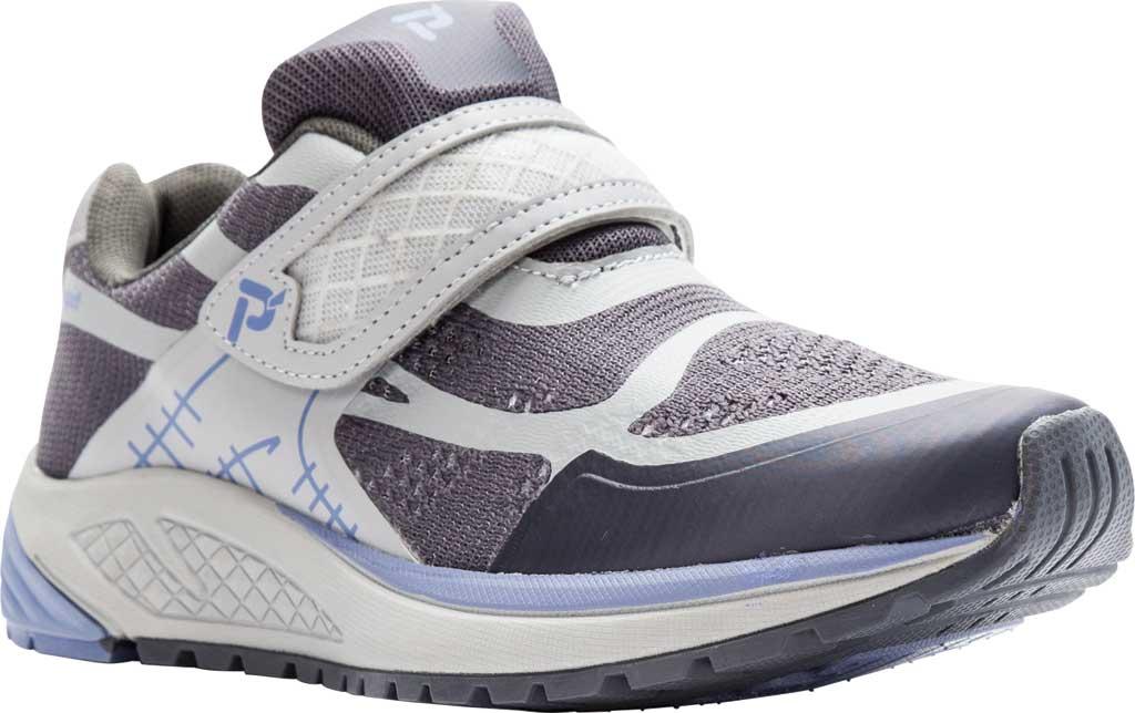 Women's Propet One Strap Sneaker, Lavender/Grey Mesh, large, image 1