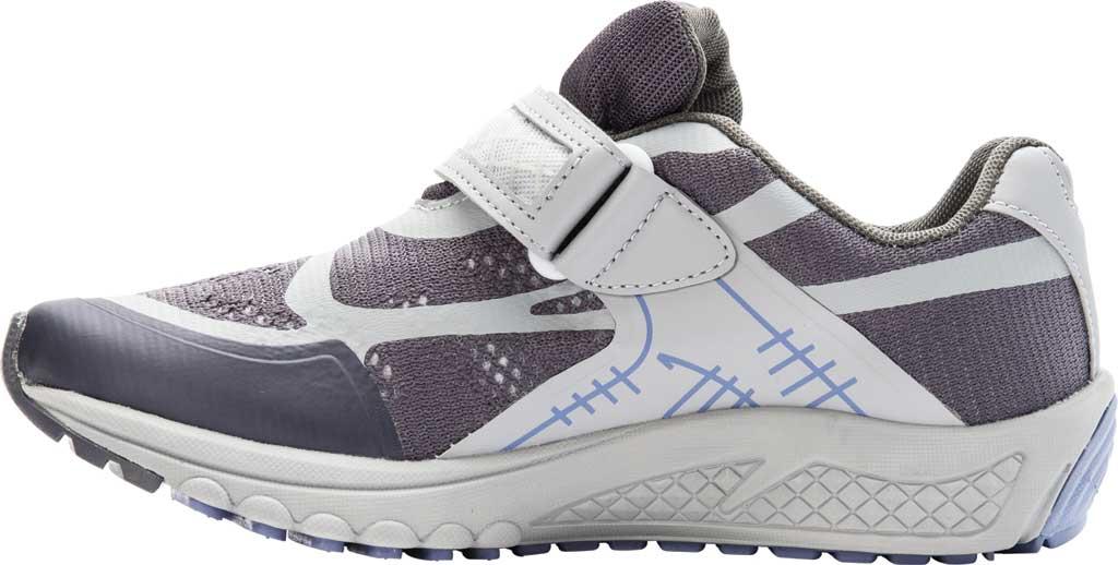 Women's Propet One Strap Sneaker, Lavender/Grey Mesh, large, image 3