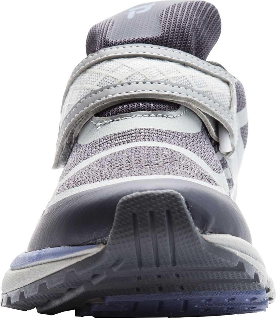 Women's Propet One Strap Sneaker, Lavender/Grey Mesh, large, image 4