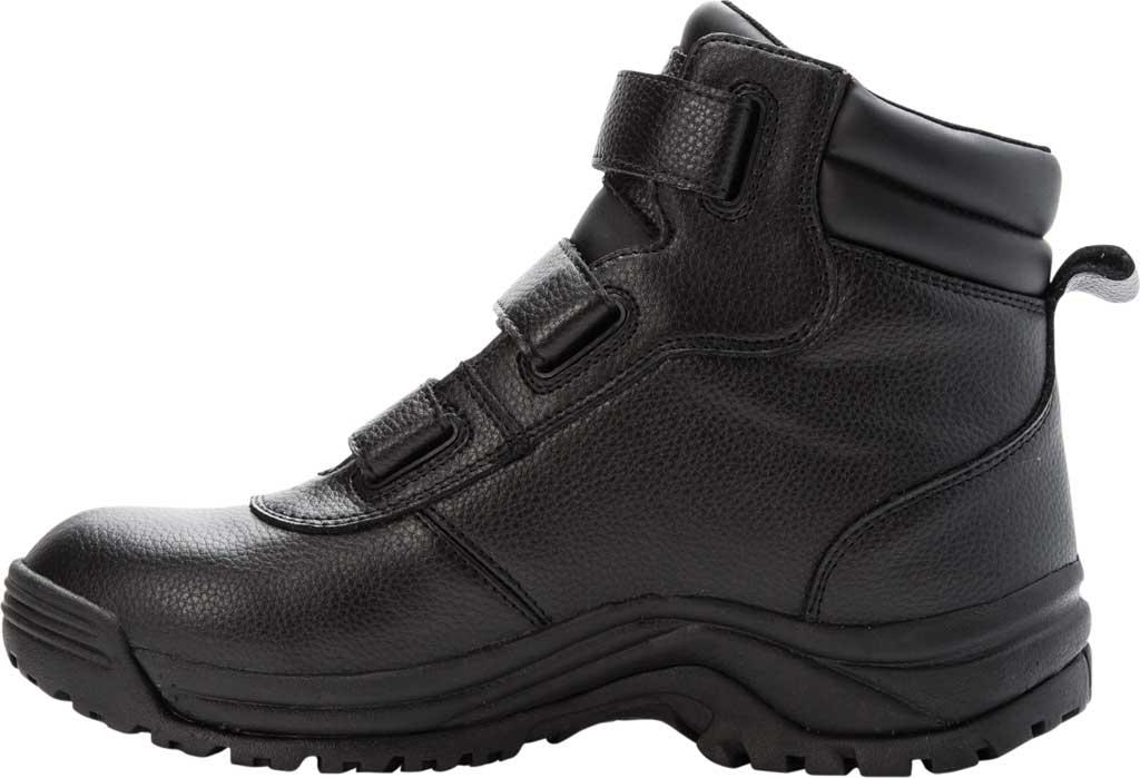 Men's Propet Cliff Walker Tall Strap Boot, Black Full Grain Leather, large, image 3