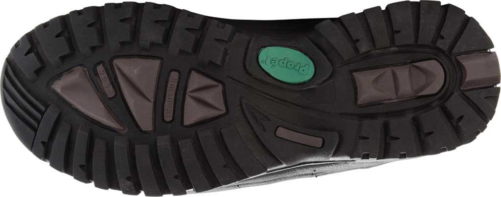 Men's Propet Cliff Walker Tall Strap Boot, Black Full Grain Leather, large, image 6