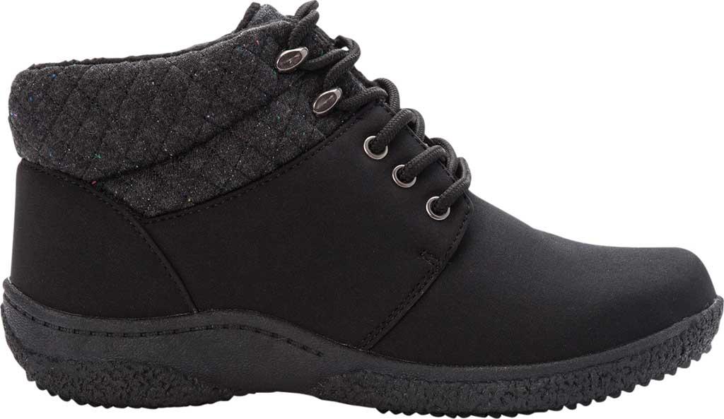 Women's Propet Madi Ankle Lace Up Boot, Black Nylon, large, image 2