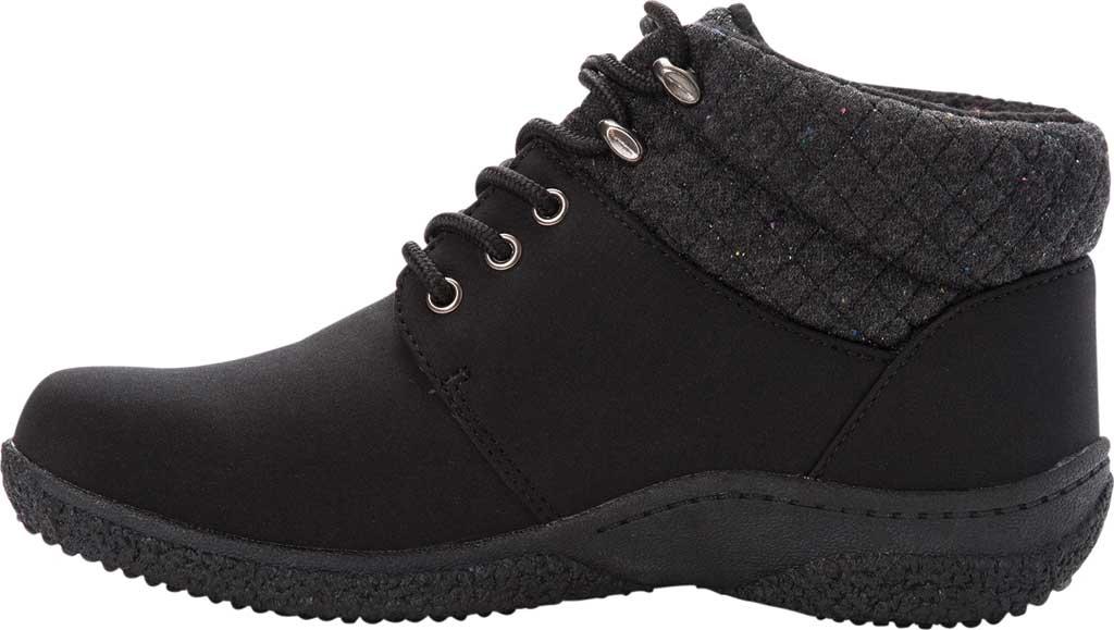 Women's Propet Madi Ankle Lace Up Boot, Black Nylon, large, image 3