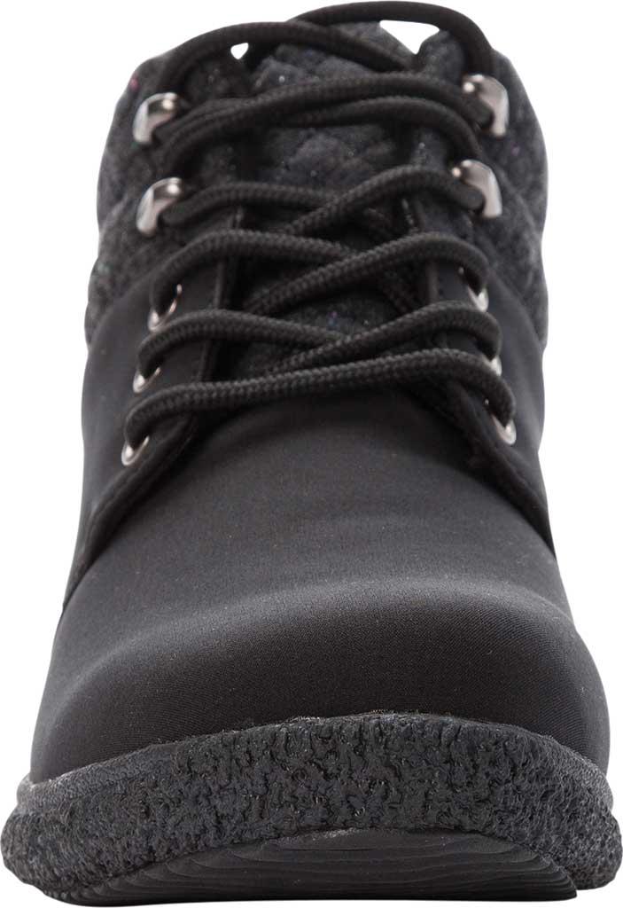 Women's Propet Madi Ankle Lace Up Boot, Black Nylon, large, image 4