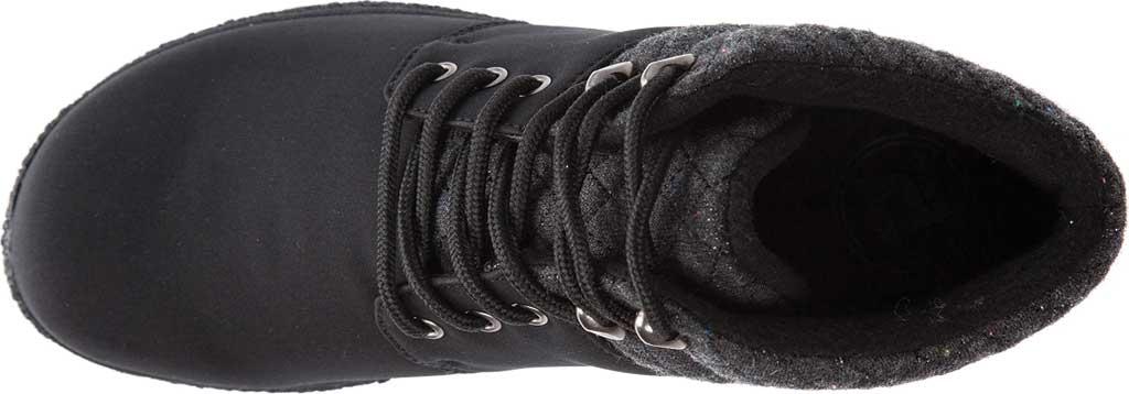 Women's Propet Madi Ankle Lace Up Boot, Black Nylon, large, image 5