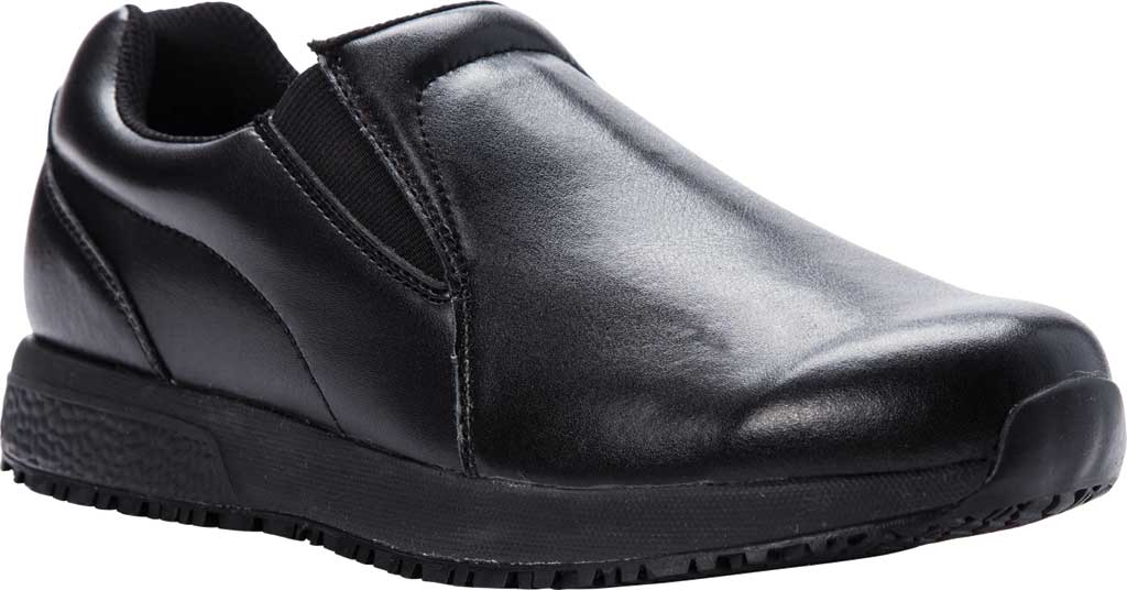 Men's Propet Stannis Loafer, Black Leather, large, image 1