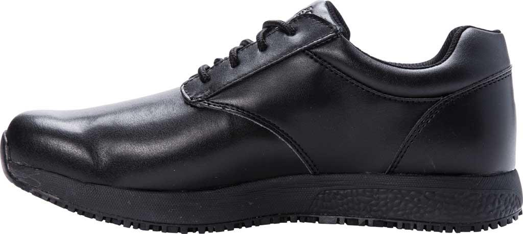 Men's Propet Spencer Sneaker, Black Leather, large, image 3