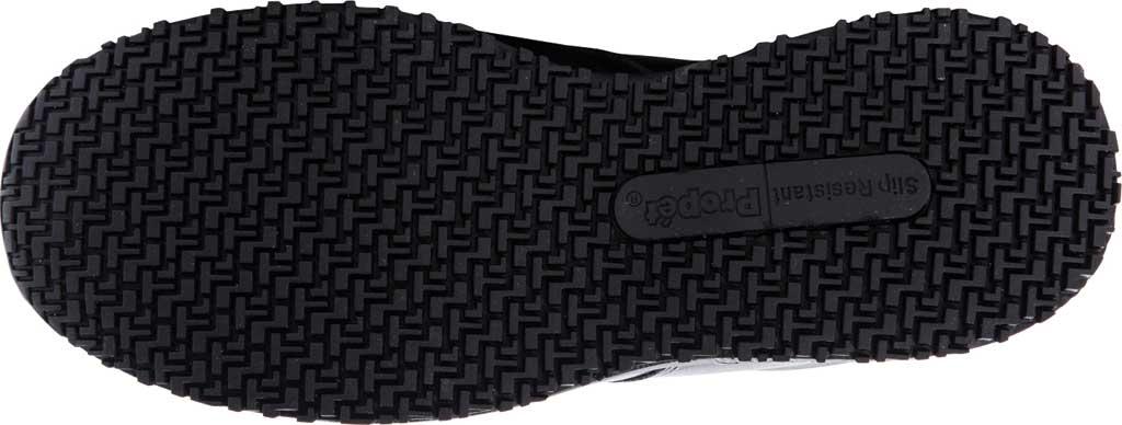 Men's Propet Spencer Sneaker, Black Leather, large, image 6