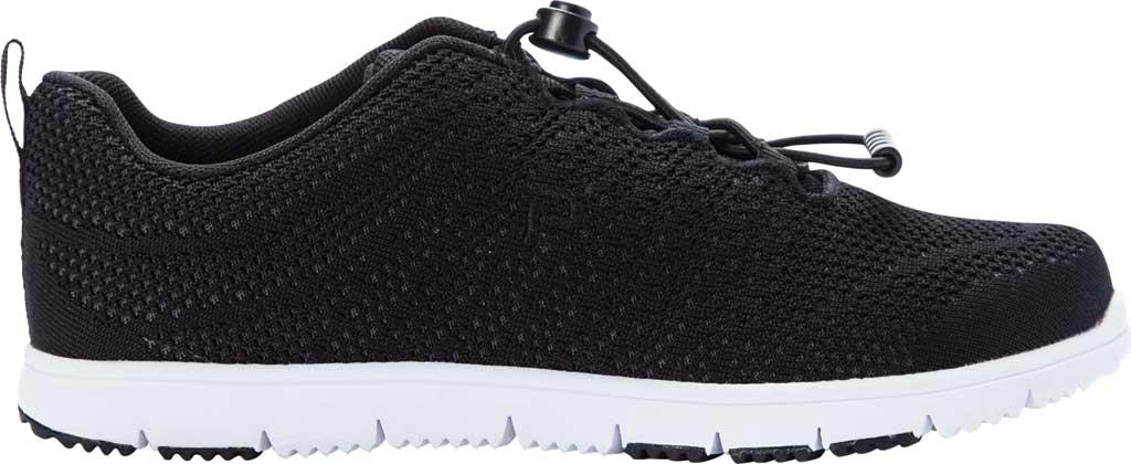 Women's Propet TravelWalker Evo Sneaker, Black Knit Mesh, large, image 2