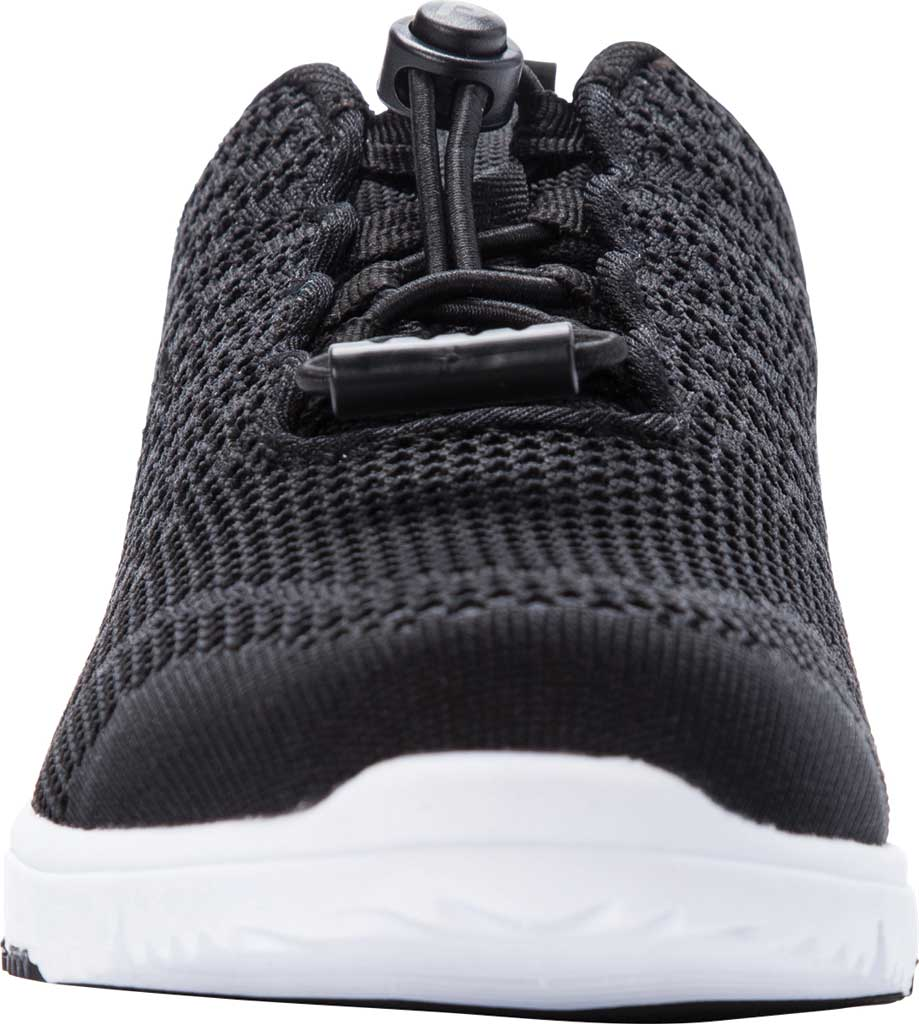 Women's Propet TravelWalker Evo Sneaker, Black Knit Mesh, large, image 4
