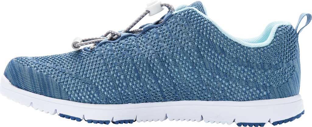 Women's Propet TravelWalker Evo Sneaker, Denim Blue/Light Blue Knit Mesh, large, image 3