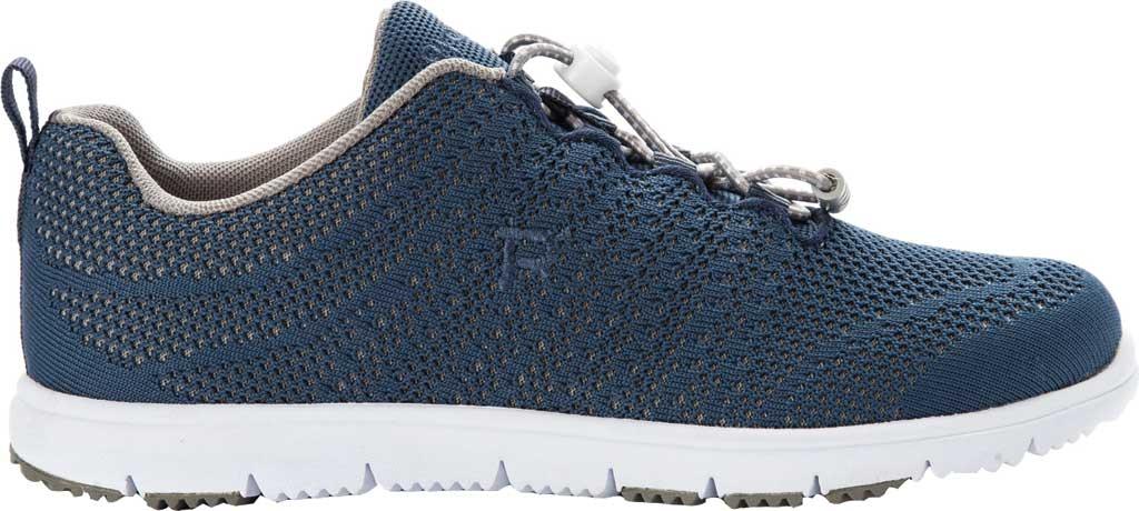 Women's Propet TravelWalker Evo Sneaker, Cape Cod Blue Knit Mesh, large, image 2