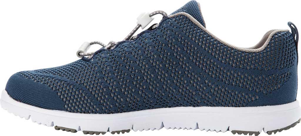 Women's Propet TravelWalker Evo Sneaker, Cape Cod Blue Knit Mesh, large, image 3