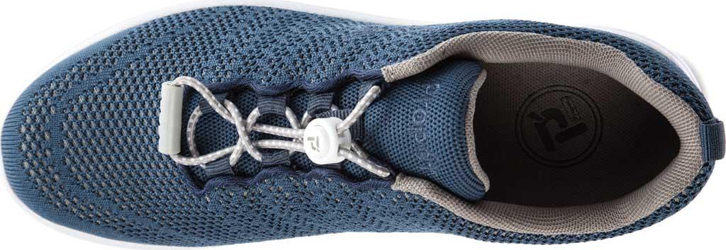 Women's Propet TravelWalker Evo Sneaker, Cape Cod Blue Knit Mesh, large, image 4