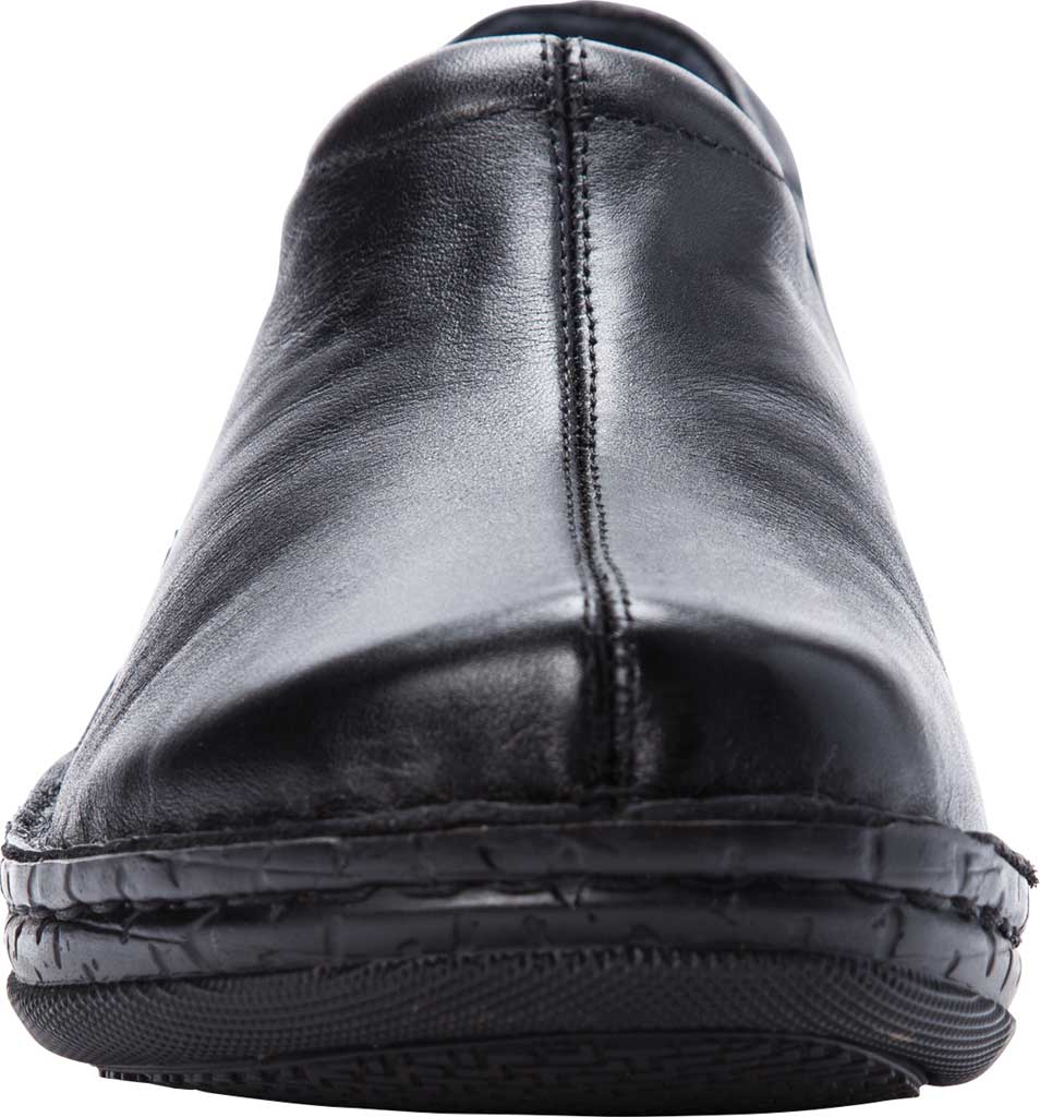 Women's Propet Jessica Closed Back Clog, Black Full Grain Leather, large, image 4