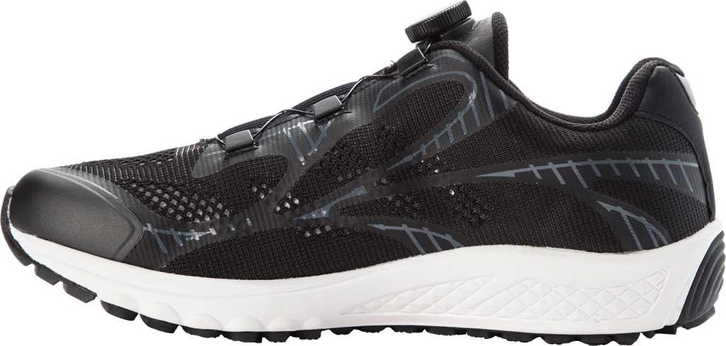Men's Propet Propet One Reel Fit Sneaker, Black/Grey Mesh, large, image 3