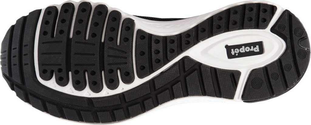 Men's Propet Propet One Reel Fit Sneaker, Black/Grey Mesh, large, image 5