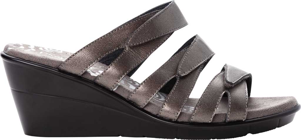 Women's Propet Lexie Strappy Wedge Slide, , large, image 2