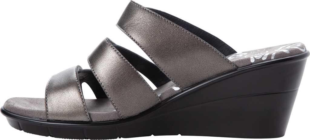 Women's Propet Lexie Strappy Wedge Slide, , large, image 3