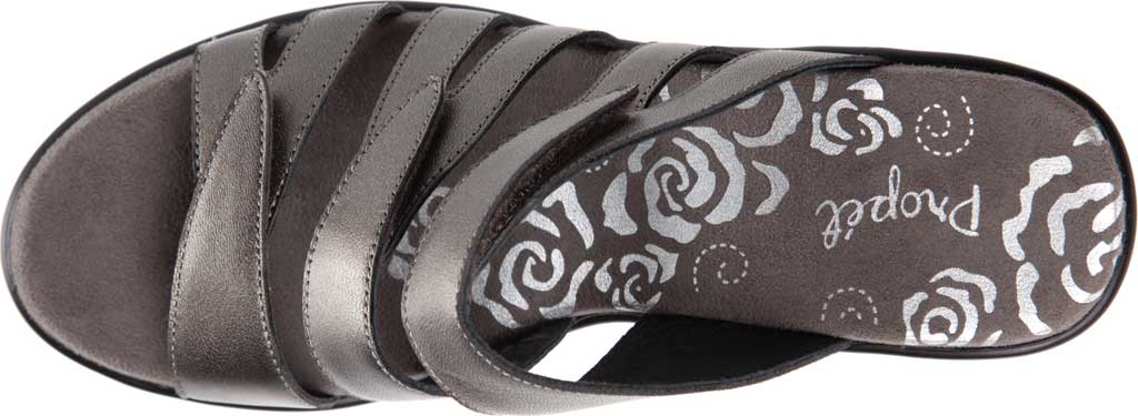Women's Propet Lexie Strappy Wedge Slide, , large, image 4